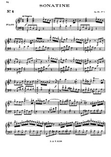 Three Sonatinas, Op.38: set completo by Muzio Clementi