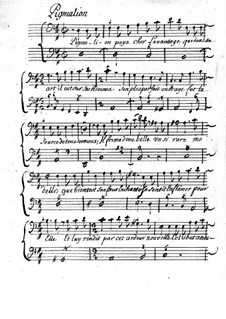 Pigmalion for Voice, Violin (or Flute) and Basso Continuo: Pigmalion for Voice, Violin (or Flute) and Basso Continuo by Louis-Nicolas Clérambault