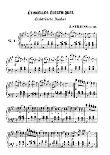Wings of the Phoenix, Op.125: Para Piano by Johann Strauss (Sohn)