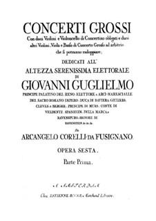Complete set: Viola ripieno part by Arcangelo Corelli