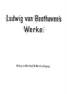Quartet No.1 in F Major: violino parte I by Ludwig van Beethoven