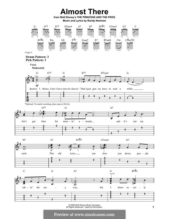 Almost There: Para Guitarra by Randy Newman