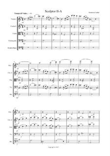 Sculpted. Waltz No.2: Sculpted. Waltz No.2 by Frederick Naftel