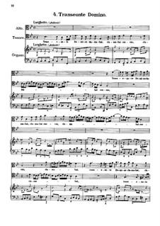 Eight Motets: No.4-5 Transeunte Domino and Transfige, dulcissime Jesu by Antonio Caldara