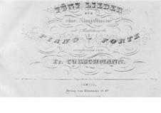Five Songs, Op.5: cinco musicas by Friedrich Curschmann