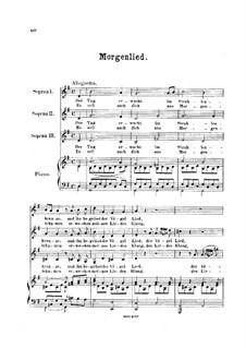 Morgenlied: Morgenlied by Friedrich Curschmann