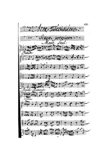Vénus et Adonis: Ato III by Henri Desmarets