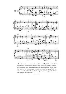 Choix de chorals: Choral No.29 by Johann Sebastian Bach