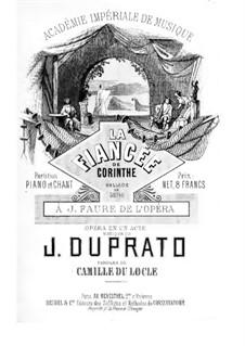 La fiancée de Corinthe (The Bride of Corinth): La fiancée de Corinthe (The Bride of Corinth) by Jules Duprato