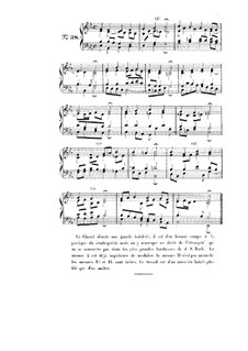 Choix de chorals: Choral No.38 by Johann Sebastian Bach
