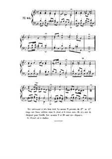 Choix de chorals: Choral No.64 by Johann Sebastian Bach