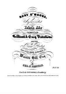 Rory O'Moore: Rory O'Moore by George Frederick Bristow