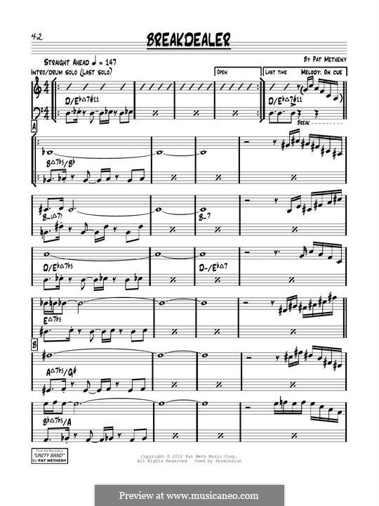 Breakdealer: melodia by Pat Metheny