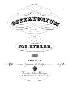 Domine si observaveris iniquitates, HV 88: Partitura completa by Joseph Eybler