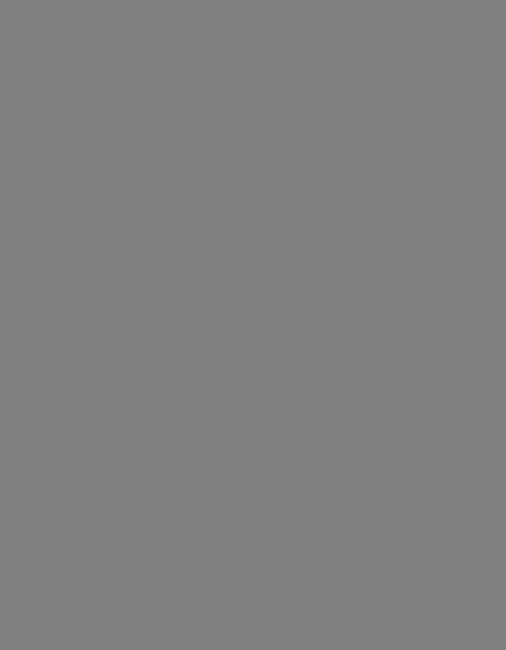 Back to the Future, for Orchestra (arr. Michael Sweeney): Mallet Percussion part by Alan Silvestri
