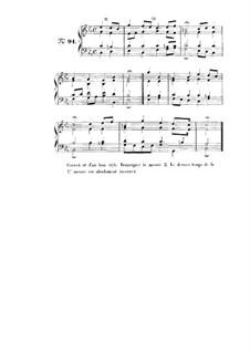 Choix de chorals: Choral No.91 by Johann Sebastian Bach