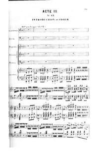 Le nabab: ato III, para solista,coral e piano by Fromental Halevy