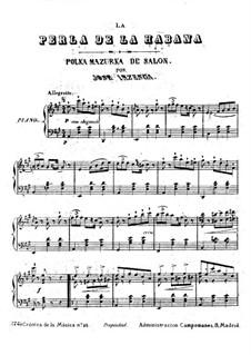 La Perla de la Habana: La Perla de la Habana by José Inzenga