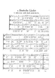 Secular Works: German Songs by Heinrich Isaac
