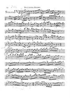 Trio Sonata in F Major, HWV 389 Op.2 No.4: partes by Georg Friedrich Händel