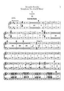 Symphony No.2 in B Minor: parte harpa by Alexander Borodin