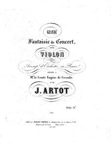 Grand Concert Fantasia, Op.16: Score by Alexandre Joseph Artôt