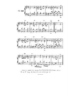 Choix de chorals: Choral No.120 by Johann Sebastian Bach