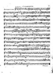 Le calife de Bagdad: clarinete parte II by Adrien Boieldieu
