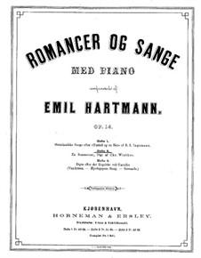 Østerlandske Sange, Op.14: livro II by Emil Hartmann