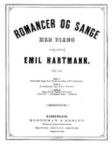 Østerlandske Sange, Op.14: book III by Emil Hartmann