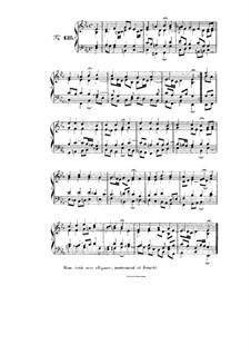Choix de chorals: Choral No.135 by Johann Sebastian Bach