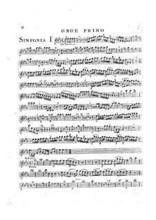 Symphony No.2 in E Flat Major, G.504 Op.12: Oboe parte I by Luigi Boccherini