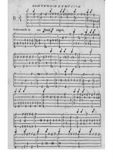 Obras de música para tecla, arpa y vihuela: Movimento V by Antonio de Cabezón
