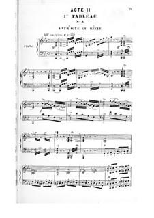 La magicienne: ato II, para solista,coral e piano by Fromental Halevy