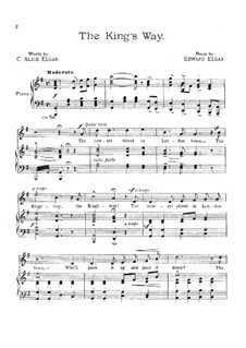 The King's Way: The King's Way by Edward Elgar