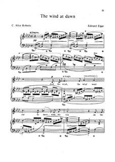 The Wind at Dawn: The Wind at Dawn by Edward Elgar