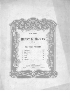 Six Tone Pictures. No.2 Fate, Op.14: Six Tone Pictures. No.2 Fate by Henry Kimball Hadley