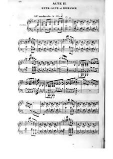 La dame de pique (The Queen of Spades): ato II, para solista,coral e piano by Fromental Halevy