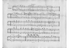 Symphony No.75 in D Major, Hob.I/75: movimento II. Versão para piano de quatro mãos by Joseph Haydn