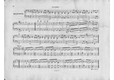 Symphony No.75 in D Major, Hob.I/75: Movement III. Version for piano four hands by Joseph Haydn