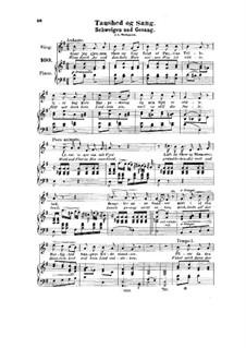 Taushed og Sang, HK 47: Taushed og Sang by Halfdan Kjerulf