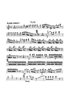 Symphony No.3 in D Minor, G.517 Op.37: parte flauta by Luigi Boccherini