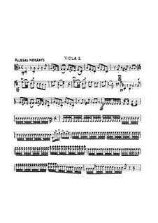 Symphony No.3 in D Minor, G.517 Op.37: parte violas by Luigi Boccherini