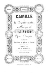 Camille: Camille by Nicolas-Marie d'Alayrac
