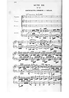 Herculanum: Acts III-IV, for Voices and Piano by Félicien David