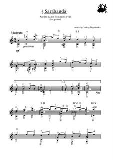 Sarabanda: Sarabanda by Valery Dzyabenko