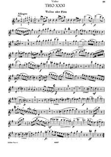 Piano Trio No.29 in G Major, Hob.XV/15: Violin or flute part by Joseph Haydn