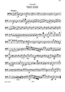 Piano Trio No.29 in G Major, Hob.XV/15: parte violoncelo by Joseph Haydn