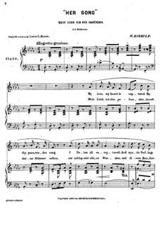 No.1 Her Song: No.1 Her Song by Halfdan Kjerulf