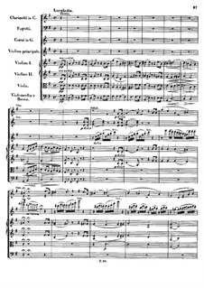 Concerto for Violin and Orchestra in D Major, Op.61: movimento II by Ludwig van Beethoven